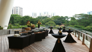 Rasel Catering Singapore - Halal cocktail buffet catering for corporate event